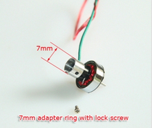 HP03T V2 tail motor 9000KV 6mm tail with 7mm adapter ring