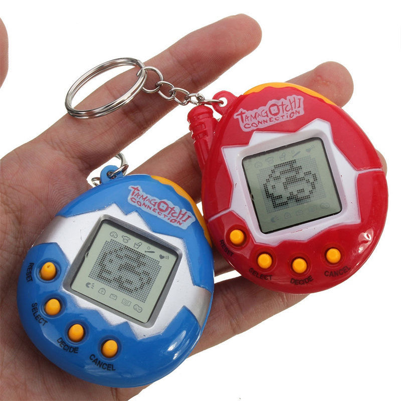 49 Virtual Cyber Digital Pets Electronic Tamagochi Pets Retro Game Funny Toys Handheld Game Machine Classic Toys For Gift