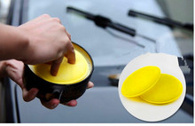 10pcs/Set Car Circle Cleaning Wax Foam Sponges Pad Car Cleaning Tool Car Care for Ford Focus 2 focus 3 mondeo Fiesta Ecosport(China (Mainland))