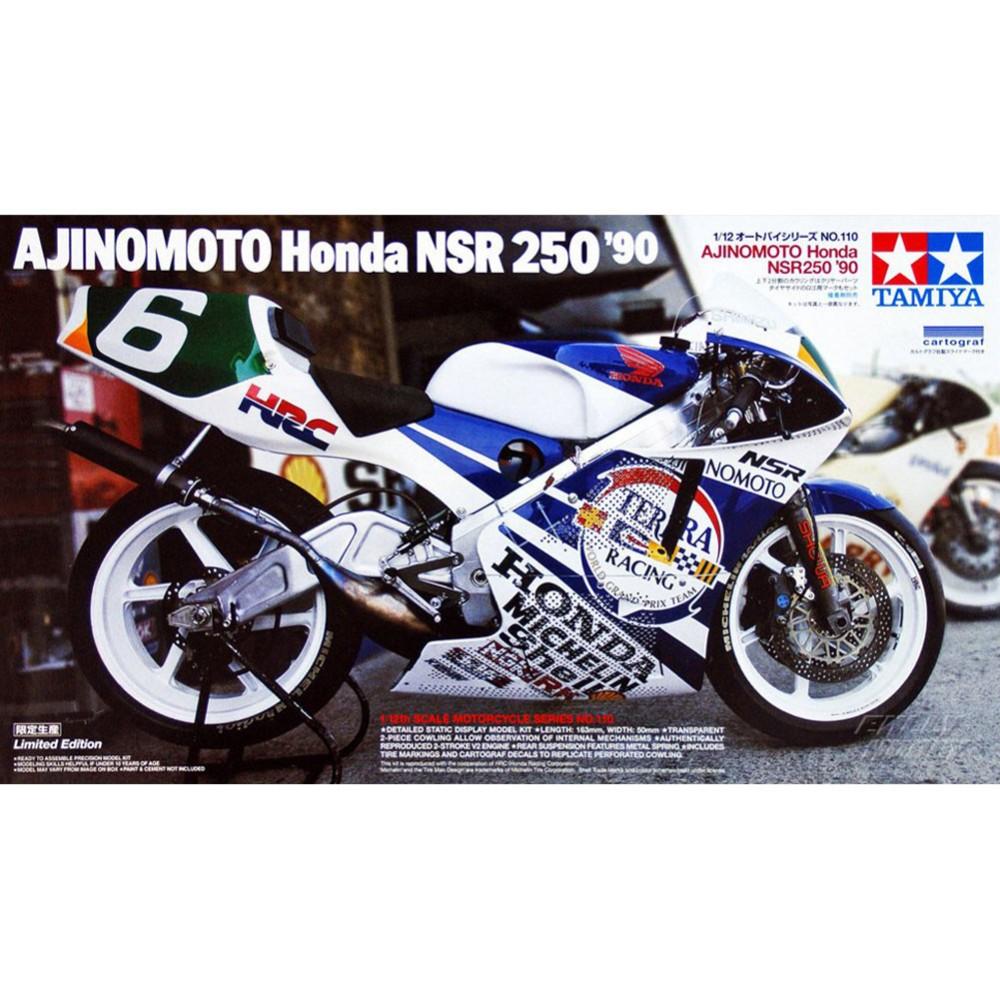 OHS Tamiya 14110 1/12 Ajinomoto NSR250 90 Scale Assembly Motorcycle Model Building Kits