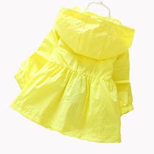 2016 New Girls Fashion jackets Girls Outerwear Coats Trench Girls Hoodies Jackets Children s Coat Spring