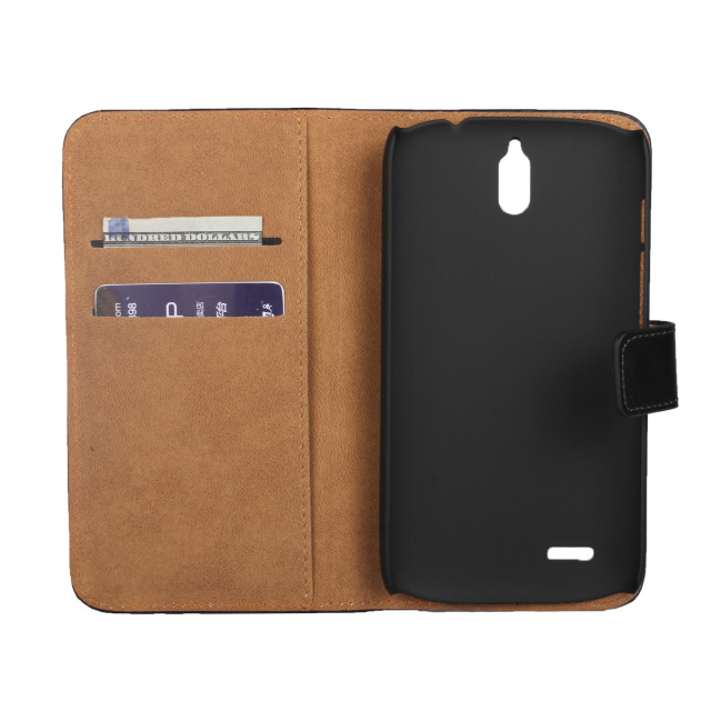2015 New High Quality Luxury Crazy Horse Leather Flip Case For Huawei