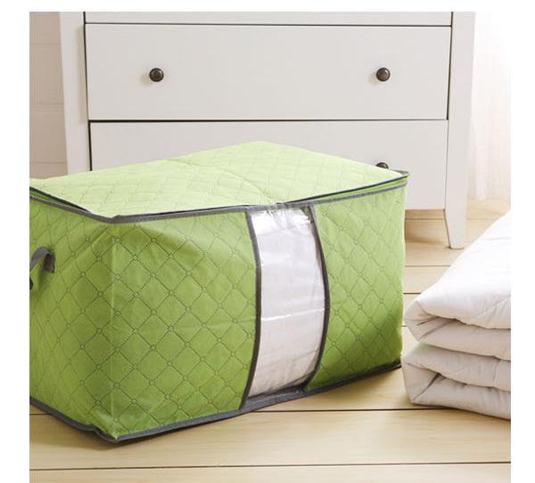 Multicolor Bamboo Charcoal Quilts Blankets Pillows Clothing Sorting Storage Bag(China (Mainland))