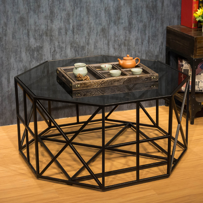 Popular Wrought Iron Glass Coffee Table-Buy Cheap Wrought