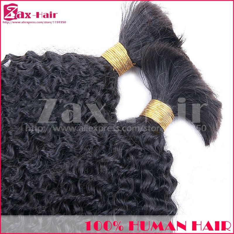 Hot Sale Hair Bulk Top Quality Kinky Curly Bulk Hair For Braiding 100% Natural Bulk Hair Virgin Human Hair Aliexpress Discount