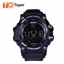Buy Toper EX16 Sports Bluetooth Smart Watch 50M Deep IP67 Waterproof Night Visible Pedometer Sleep Monitor Android iPhone Stock for $16.89 in AliExpress store