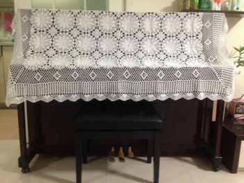 handmade crochet tablecloth crochet flower American Piano cover Nordic IKEA style for wedding home decor[Can custom] 90% OFF