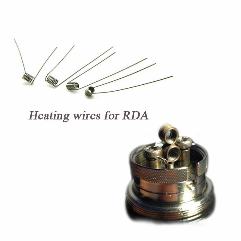 Wire Resistance twist Wires Heating Coil Wire for RDA nautilus mini atomizer v2 aerotank istick E Cigarettes kenthal wire(China (Mainland))