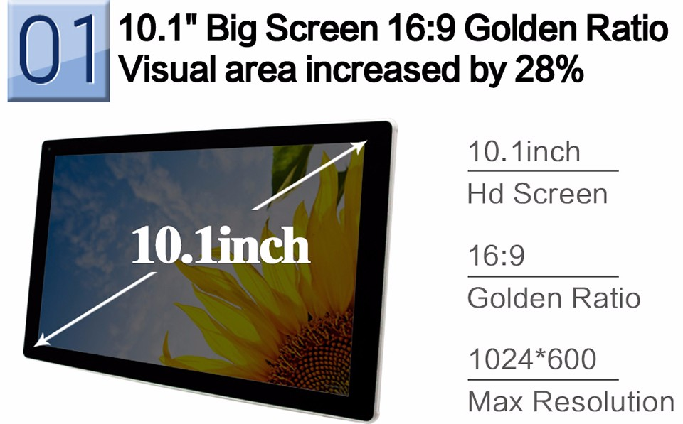 Android Tablet Pc 10 Inch 1Gb 8Gb Quad Core Tablets Pc 1024600 High Definition Lcd Dual Cameras Nice Aoson M1016C-W Tab Pc (2)