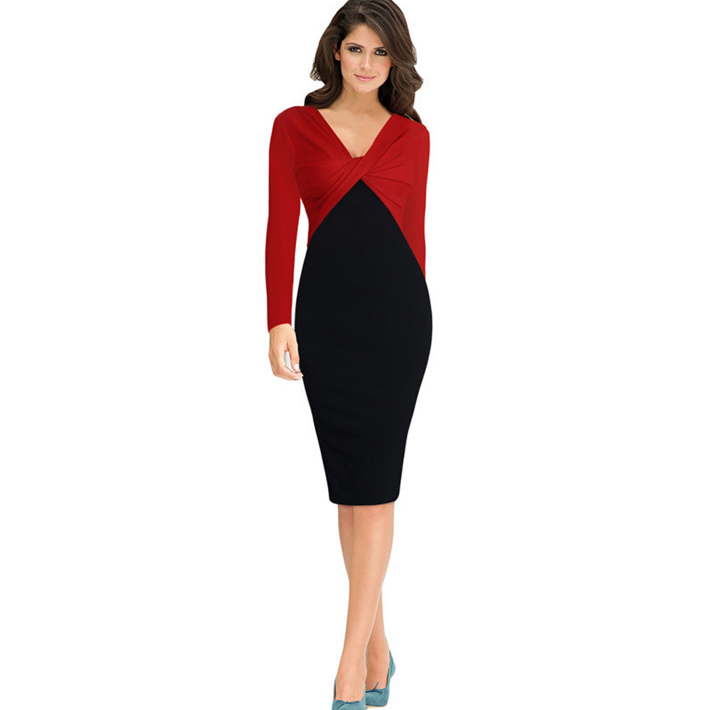 New This Plus Size Sheath Dress Could Easily Be Worn To Work, But Its Equally  Forming A Faux Cap Sleeve Look Thats Feminine Without Being Frilly Especially Flattering For Bustier Women, This Polyspandex LBD Can Be Machine Washed