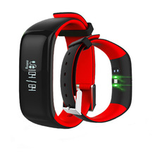 Buy Health Fitness Tracker Heart Rate Monitor Blood Pressure Sports P1 Smart Wristband Pedometer Smart Bracelet Bluetooth for $25.69 in AliExpress store
