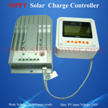 24V 20A MPPT solar control, 20a MPPT charge controller beest quality, 12 volt charger solar(China (Mainland))