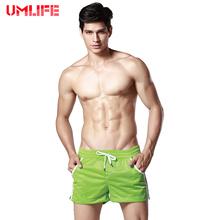 UMLIFE Swimwear Men Mesh M Swimsuits Swimming Trunks Boxer Briefs Sunga Swim Suits Breathable Maillot De Bain Beach Shorts(China (Mainland))