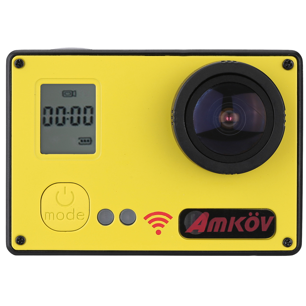 AMKOV AMK7000S Wifi Action Camera 1080P 4K 20MP Waterproof 40M 2.0'' LCD 170 Wide Angle Mini Camcorders DV Watch Remote Control(China (Mainland))