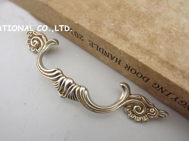 96mm Free shipping zinc alloy furniture drawer cabinet handles bedroom handles