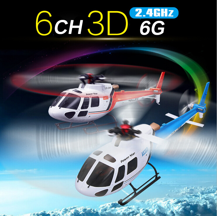 Original Wltoys WL V931 6CH 6 Axis & 3 Axis GYRO Dual Mode 3D Play 2.4G RC Remote Control Electric Helicopter like AS350 Scale(China (Mainland))