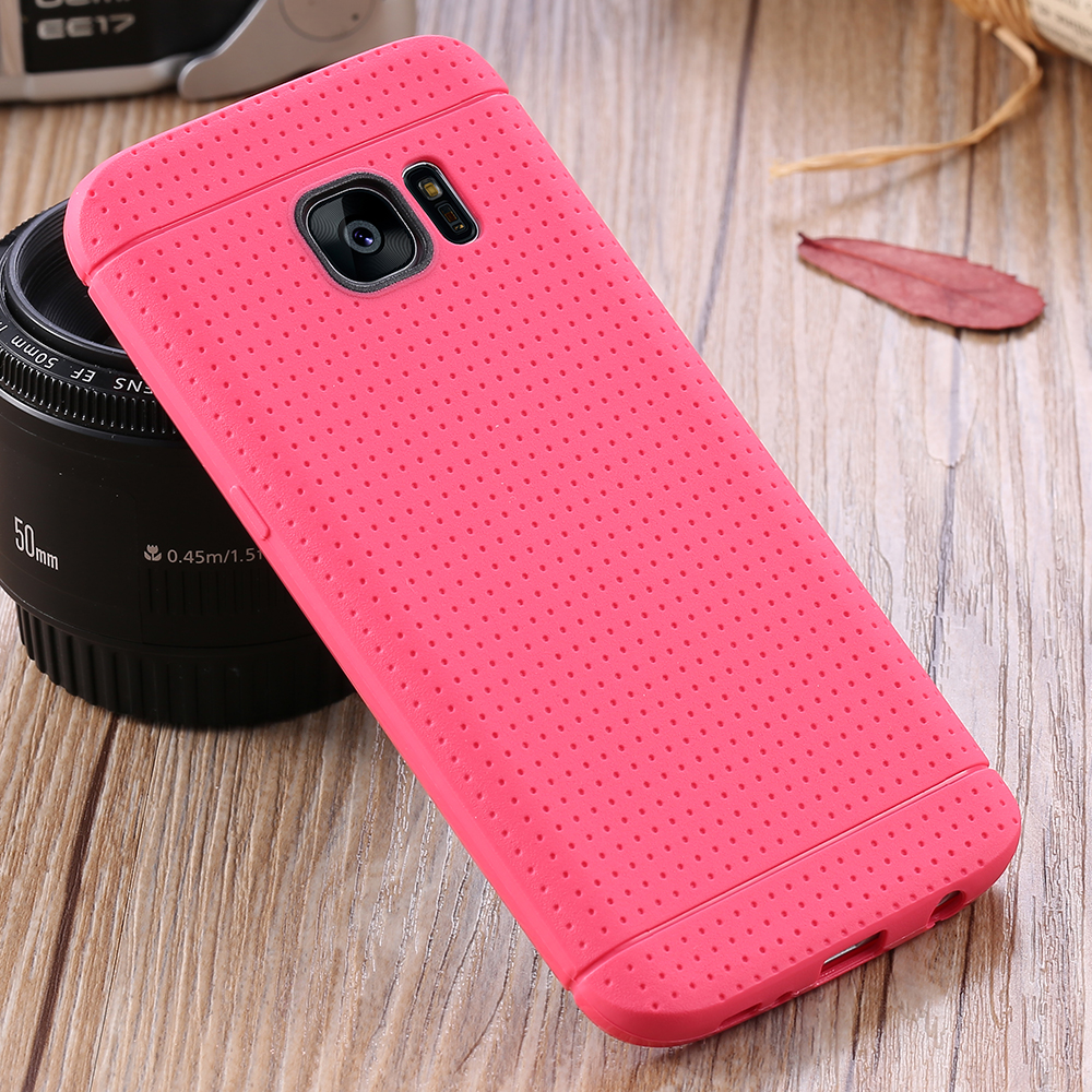 KISSCASE Top Quality Soft TPU Silicone Case For Samsung Galaxy S7 S7 Edge S6 S6 Edge S5 Soft Rubber Back Cover For Samsung S7 S6(China (Mainland))