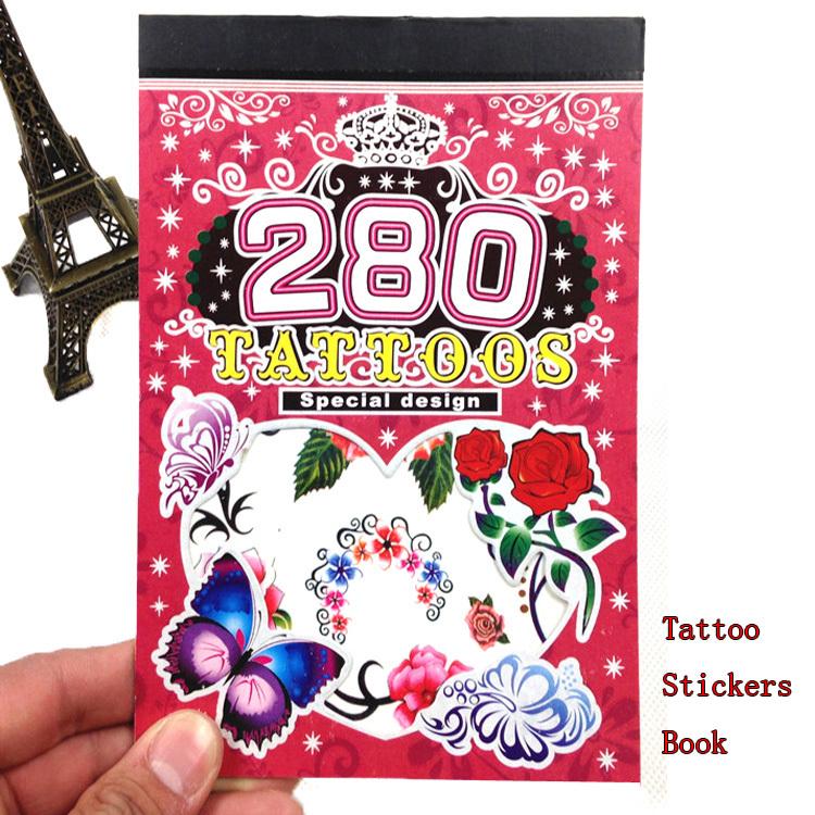 Summer Sale 6PCS/Book Temporary Fake Tattoo Body Stickers OneTime Waterproof Cross Men Tattoo Stickers Vinyl Glitter Classic Toy(China (Mainland))