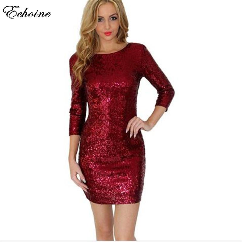 Online Get Cheap Long Sleeve Gold Backless Dress -Aliexpress.com ...
