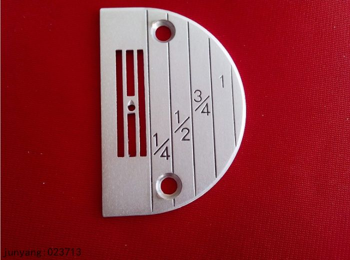 SEWING MACHINE SPARE PARTS & ACCESSORIES HIGH QUALITY SEWING NEEDLE PLATE 147150LGW NEEDLE PLATE(China (Mainland))