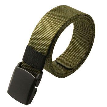 Automatic Buckle Nylon Belt Male Army Tactical Belt Jeans Mens Luxury Waist Designer Belts Men High Quality Strap WY01