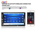 2 Din 7 Inch Bluetooth Car Stereo MP4 MP5 Player HD In Dash Car Radio Player