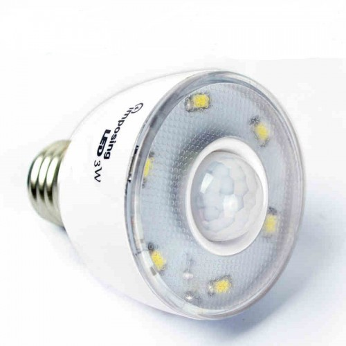 human infrared motion sensor led light bulb 6pcs 5730 smd in led bulbs. Black Bedroom Furniture Sets. Home Design Ideas