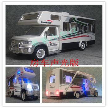 Luxury rv travel car model toys the door WARRIOR plain