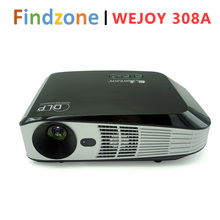 WEJOY 1080P FULL HD Smart Projector DL-308A DLP 1500lm Android System 3D HDMI 4K USB AV IR WIFI Color Black(China (Mainland))