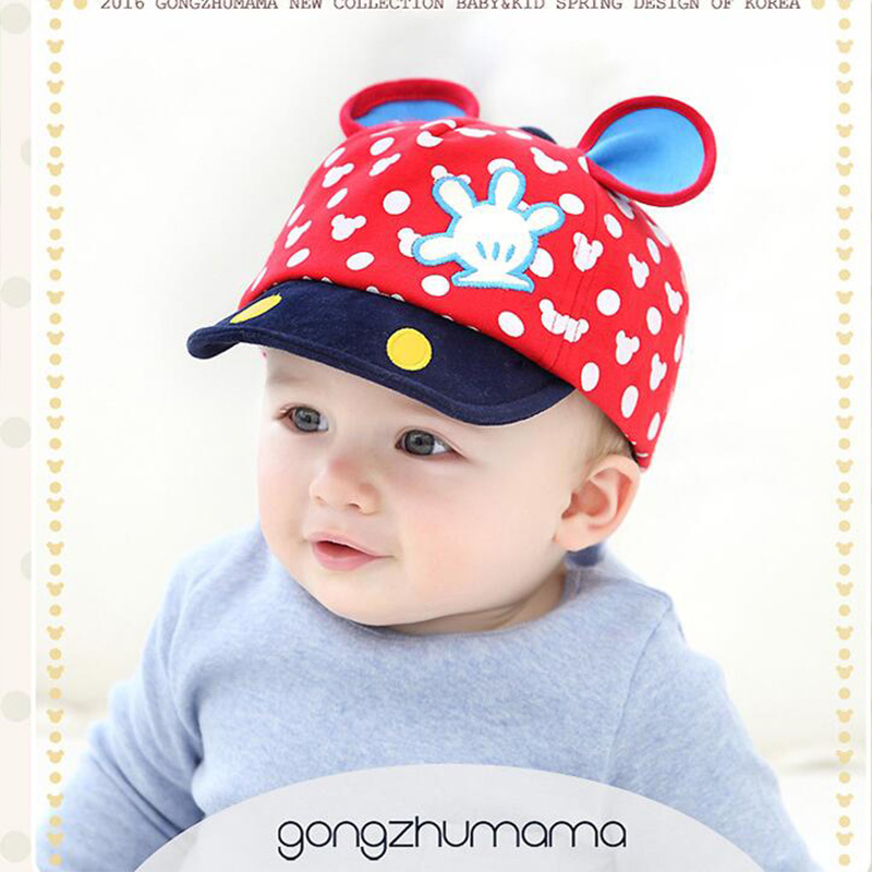 Spring and summer baby products child hats baby hats baseball cap baby boy beret baby girls sun hat(China (Mainland))