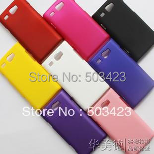 For Omnia W Matte Hard Cases, New Rubber Hard Back Cover Case For Samsung Omnia W i8350(China (Mainland))
