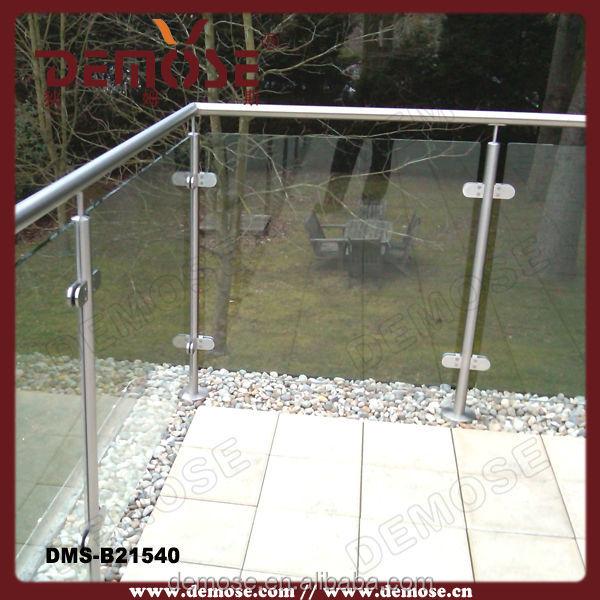 geh rtetem glas zaun f r terrasse terrasse gel nder. Black Bedroom Furniture Sets. Home Design Ideas