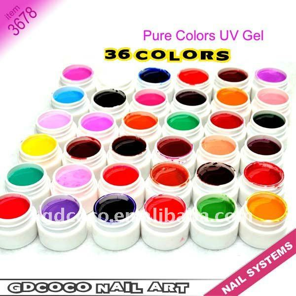 pure color gd coco kits color uv gels  #3678W<br><br>Aliexpress
