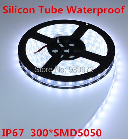 5m 300LED RGB/white/warm white/blue/red/Green/yellow, IP67silicon tube