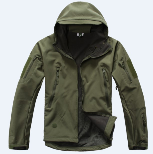 2016 Windproof Waterproof Sports Army Clothing TAD Gear Lurker Shark skin Soft Shell TAD V 4.0 Outdoor Military Tactical Jacket(China (Mainland))
