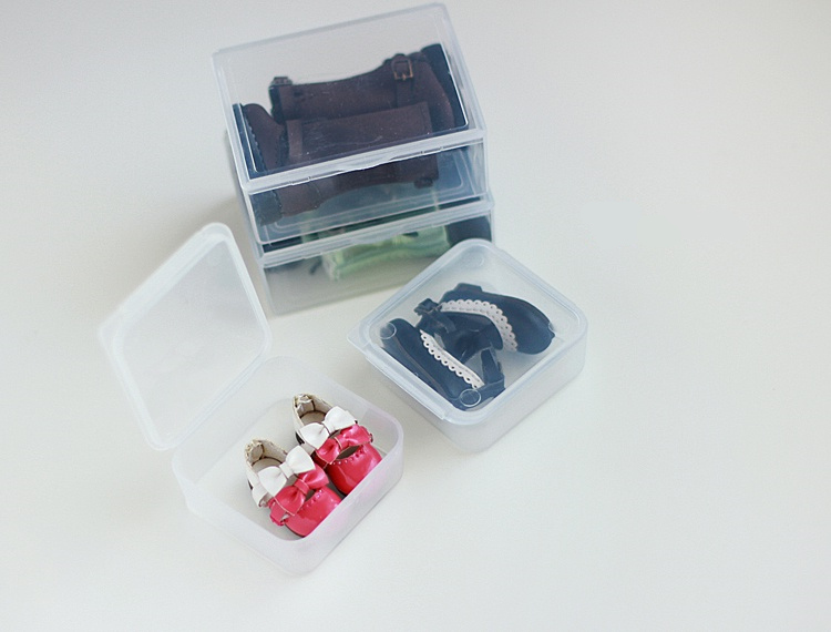 Blyth Doll shoe storage box, you can put jewelry, all kinds of small objects, 3.5 * 3.5cm<br><br>Aliexpress