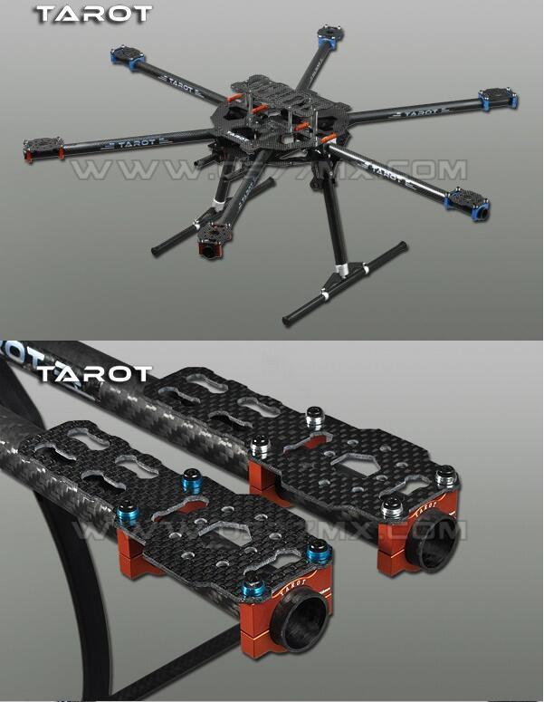 Quadcopter Рамка Таро 3 K Все углерода металла складной Тип Hexacopter Основной комплект 65