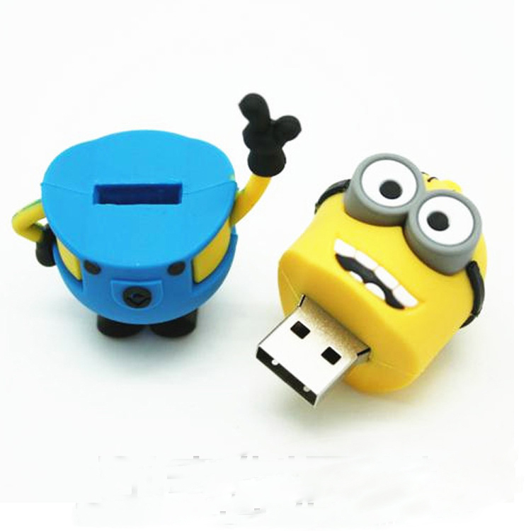 2/4/8/16/32GB/64GB USB 2.0 Flash Drive Cartoon pen drive flach card usb stick free gift(China (Mainland))