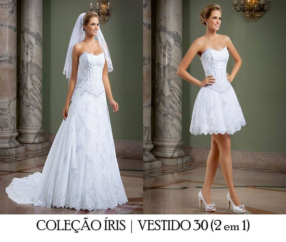 special two in one wedding dresses bridal gown dress for
