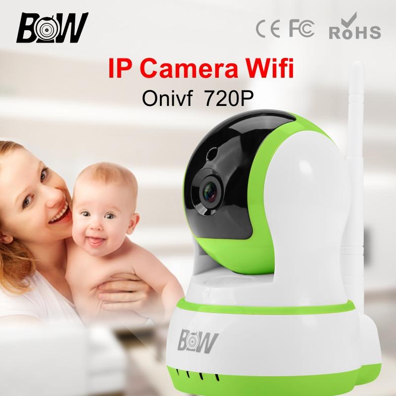 BW 720P CCTV HD Camera WiFi Wireless IP Pan 120'Tilt 355'IR-Cut Filter Megapixel Len Rotatable Security Surveillance Camera(China (Mainland))