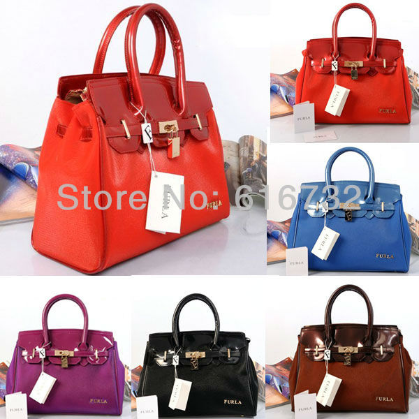 2013 newest Fashion brand female handbag Jelly candy color shoulder bag starlight totes Shine polish women portable bags - Cheap outlet store