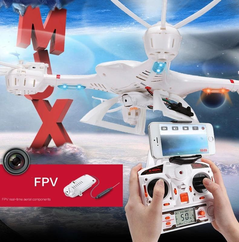 Гаджет  MJX X400-v2 2.4G 6-axis RC quadcopter RC drone with C4005 FPV HD camera free shipping None Игрушки и Хобби