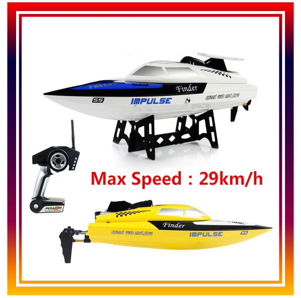 WLtoys WL912 RC Boat Remote Control Toys High Speed Boat Radio Control Ship Racing Speedboat Motor Clipper 29km/h Free Shipping <br><br>Aliexpress