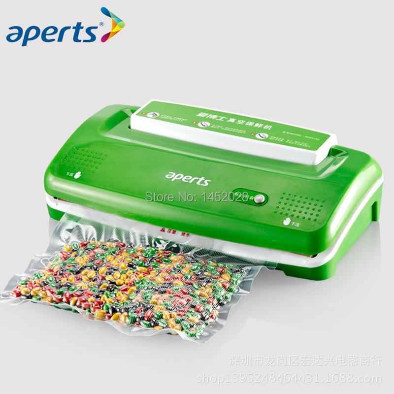 Вакуумный упаковщик для продуктов APERTS VS1000 вакуумный упаковщик redmond rvs m020 gray metallic