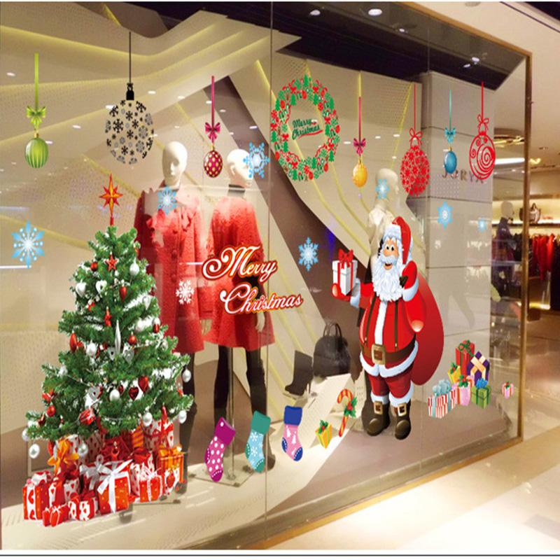 Tapete Japanische Kirsche : Window Stickers for Christmas Tree