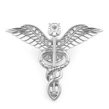 Unico Utero Organo Spilla Donne Grembo Materno Ambulanza Risvolto Spille Ginecologia Medicina Simbolo Medico Dei Monili per I Medici Delle Donne(China)