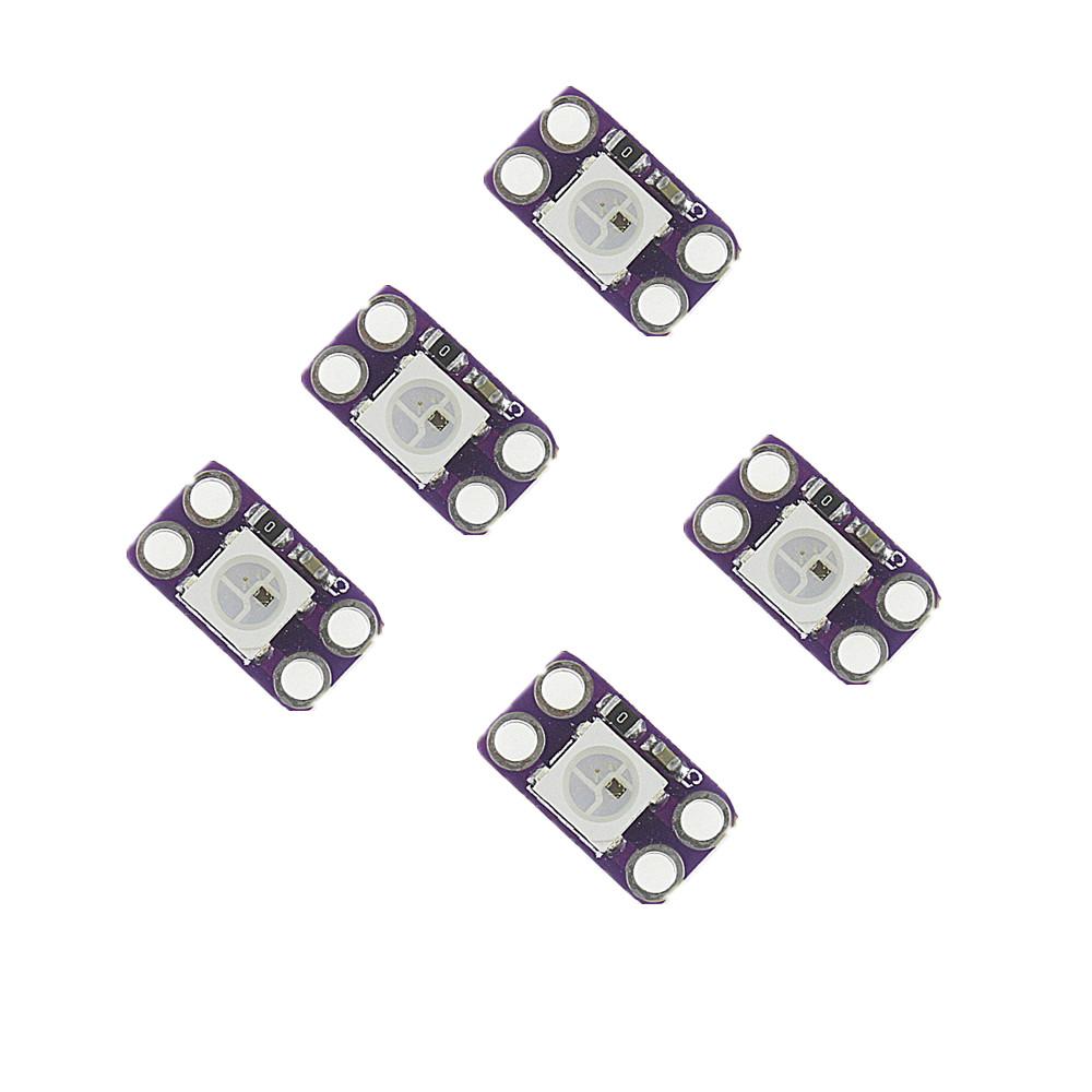 Smart Electronics 1Pcs WS2812B RGB LED full-color driver module development board arduino