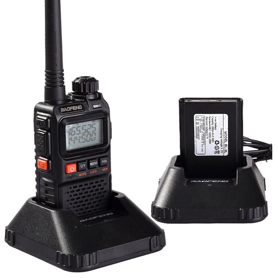 Newest baofeng uv-3r Plus Interphone Two 2 Way Radio Portable Mini Walkie Talkie For Uhf Mobile Radio Dual Band Vhf Radio Marine(China (Mainland))