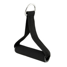 Pull Handles Resistance Bands Foam Replacement Equipment Black For Yoga Exercise Workout Gym NEW Free Shipping
