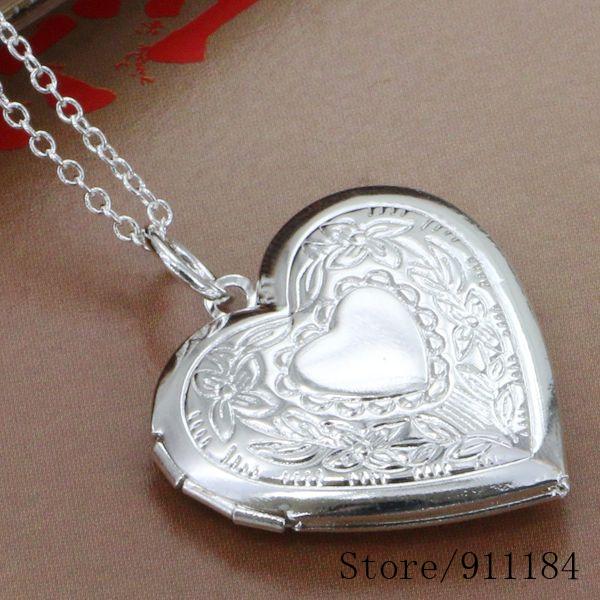 P335 silver plated Necklace, sterling-silver-jewelry fashion jewelry /bbfajsma cnpalewa - Fancy True Love Jewelry Trade Co.,Ltd store
